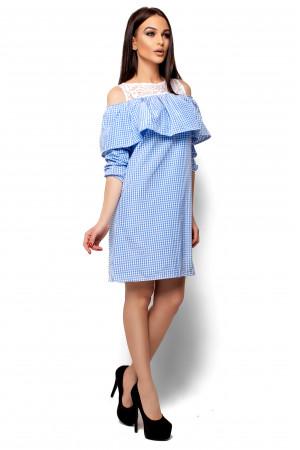 Платье «Стенли» голубого цвета