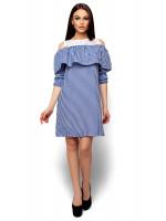 Платье «Стенли» синего цвета