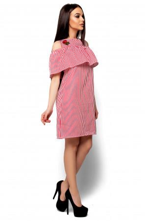 Платье «Фрида» красного цвета