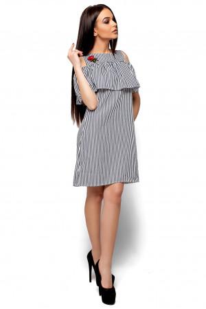 Платье «Фрида» черного цвета