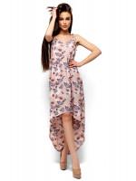 Платье «Танзания» розового цвета