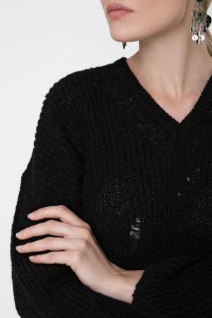 Джемпер «Присцилла» черного цвета
