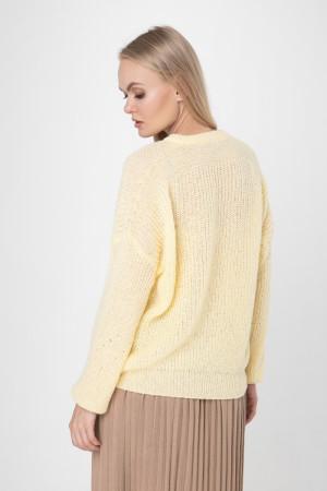 Джемпер «Присцилла» желтого цвета