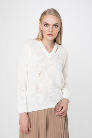 Джемпер «Присцилла» белого цвета