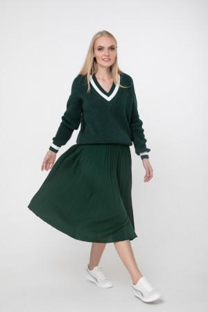 Джемпер «Брунгільда» темно-зеленого кольору
