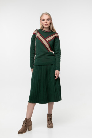 Джемпер «Ніка» темно-зеленого кольору