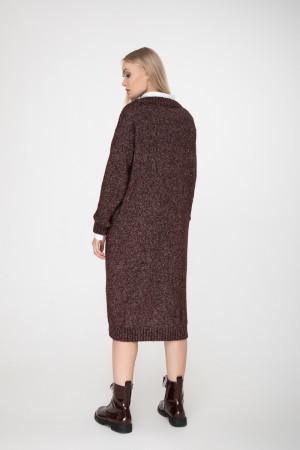 Сукня «Камілла» бордового кольору