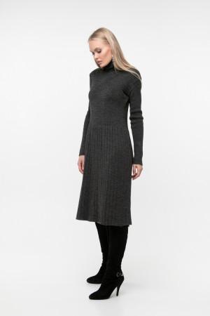 Платье «Артемия» темно-серого цвета