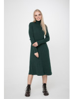 Платье «Артемия» темно-зеленого цвета