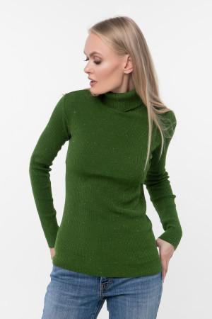 Джемпер «Айда» зеленого цвета
