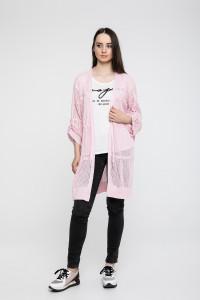 Кардиган «Баста» рожевого кольору
