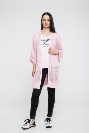 Кардиган «Баста» розового цвета