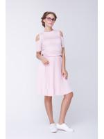 Джемпер «Перлина» рожевого кольору