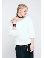 Джемпер «Джейн» белого цвета