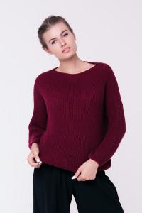Джемпер «Суфле» цвета бордо