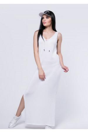 Платье «Лекси» белого цвета