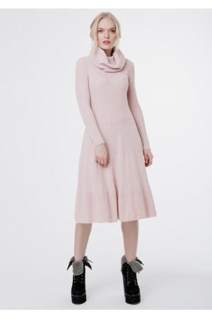 Платье «Мери» цвета пудры