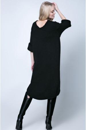 Платье «Штеффи» черного цвета
