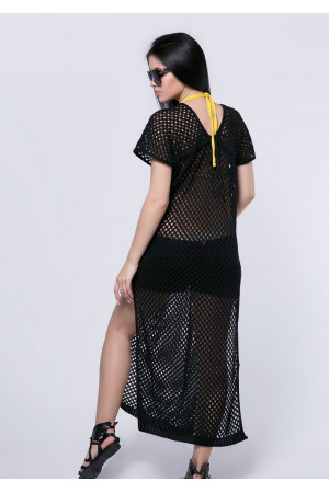 Туника «Бирма» черного цвета