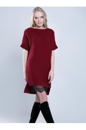 Туніка «Алюр» бордового кольору