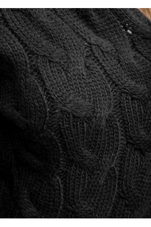 Кардиган «Тэффи» черного цвета