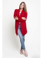 Кардиган «Тэффи» красного цвета