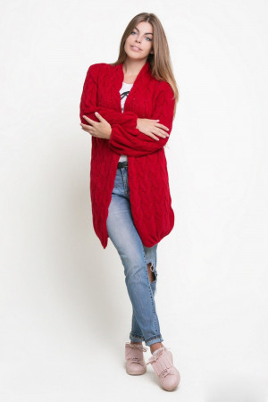 Кардиган «Теффі» червоного кольору