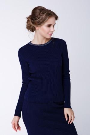 Джемпер «Смарт» темно-синього кольору