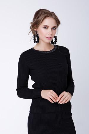 Джемпер «Смарт» чорного кольору
