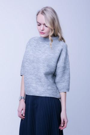 Джемпер «Еллі» кольору світло-сірий меланж