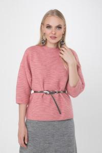 Джемпер «Элли» розового цвета