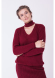 Джемпер «Бест» бордового кольору