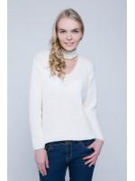 Джемпер «Бест» білого кольору