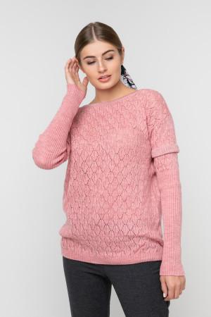 Джемпер «Астра» рожевого кольору