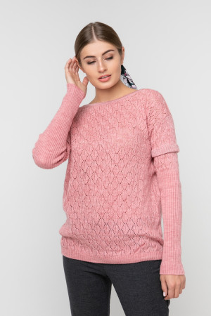 Джемпер «Астра» розового цвета