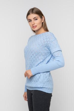 Джемпер «Астра» блакитного кольору