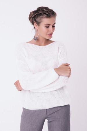 Джемпер «Суфле» белого цвета