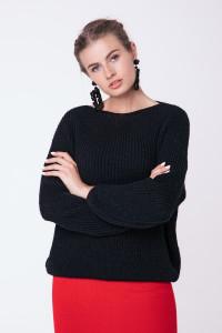 Джемпер «Суфле» черного цвета