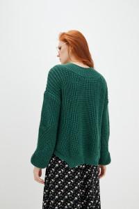 Джемпер «Кокто» темно-зеленого кольору