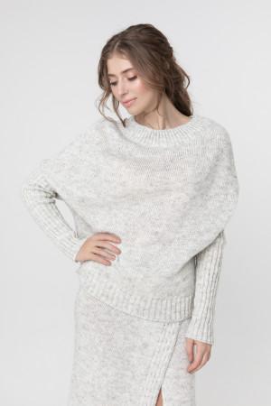 Джемпер «Асиметрія» білого кольору