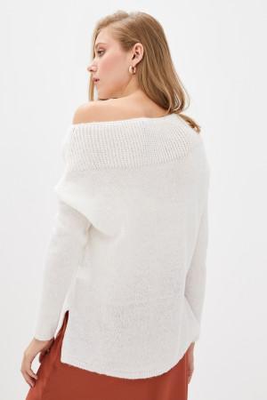 Джемпер «Лика» белого цвета