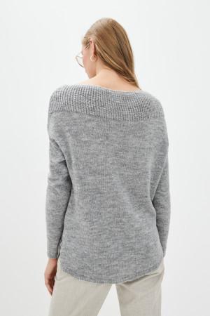 Джемпер «Лика» серого цвета