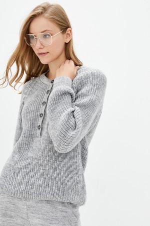 Джемпер «Кантрі» кольору світло-сірий меланж