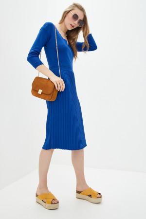 Платье «Диляра» ультрамаринового цвета