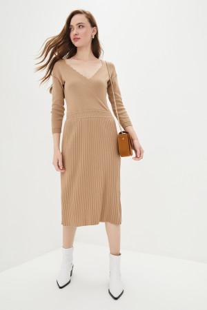 Сукня «Діляра» кольору кемел