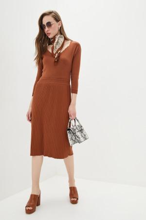 Сукня «Діляра» світло-коричневого кольору