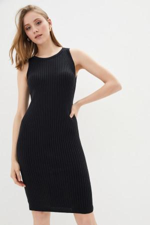 В'язана сукня «Бохо» чорного кольору