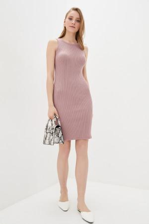 В'язана сукня «Бохо» кольору пудри