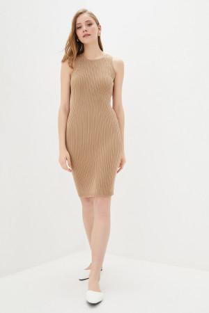 В'язана сукня «Бохо» кольору кемел
