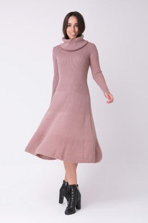 Платье «Мери» цвета марсала